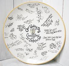 wedding guest book plate signing plate vs guest book wedding planning discussion forums