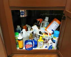 Under Sink Organizer Kitchen - under the sink organization joyful homemaking