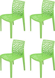 Green Plastic Outdoor Chairs Supreme Web Plastic Outdoor Chair Finish Color Parrot Green