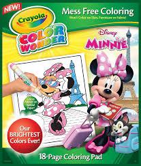 amazon com crayola minnie mouse color wonder refill book toys