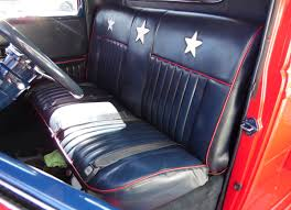 Vintage Ford Truck Seat Covers - 1937 ford pickup truck