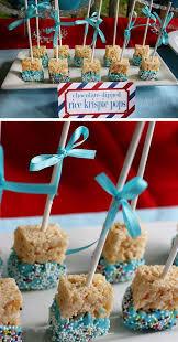 21 diy baby shower ideas for boys rice krispie treats krispie