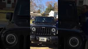 halo jeep wrangler jeep wrangler unlimited 2017 led halo headlights faqs and tips how