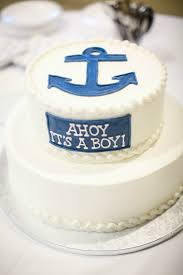 nautical baby shower with minted take time for style