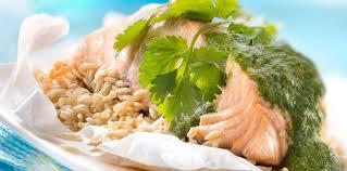 cuisiner un filet de saumon filet de saumon frais en papillote facile et pas cher recette