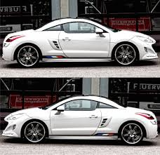 france peugeot peugeot rcz france turbo coupe racing sticker decal v3 infinity270