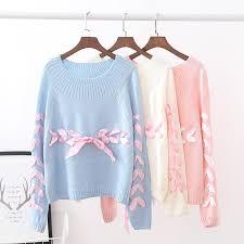 white sweater blue pink white sweater se9557 sanrense com