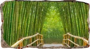 green bamboo bridge startonight 3d mural wall art 3dmural028 youtube green bamboo bridge startonight 3d mural wall art 3dmural028