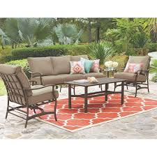 Pallet Patio Furniture Cushions by Patio 4 Piece Patio Set Home Interior Design