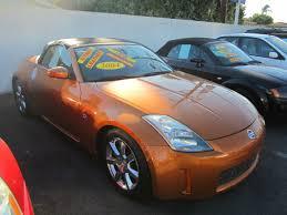 Nissan 350z Orange - cars hernandez auto sales
