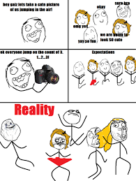 Meme Comics - expectations against reality 1 rage comics pinterest funny