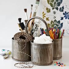 steel u0027thali u0027 pen pot and desk tidy by lovestruck interiors
