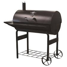 Backyard Charcoal Grill by Offset Fire Box Barrel Grills Charcoal Grills The Home Depot