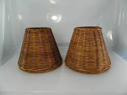 wicker lamp shades better lamps