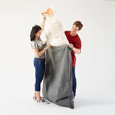 Big Joe Bean Bag Chair Zebra Amazon Com Big Joe Bean Bag Limo Black Kitchen U0026 Dining