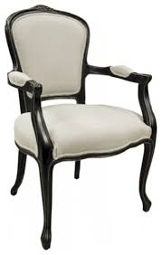 Victorian Armchair Black Antique Finish Armchair Victorian Armchairs And Accent