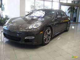 Porsche Panamera Colors - 2011 carbon grey metallic porsche panamera turbo 40820575