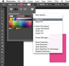 photoshop copy paste shape color photoshop family customer