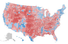 Map Of The East Coast Of Usa by What This 2012 Map Tells Us About America And The Election The