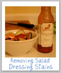upholstery stain removal salad dressing stain removal guide for vinaigrette varieties