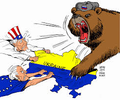 Google Russia by An American Cartoon Illustration Metaphorical Of The Power Grab