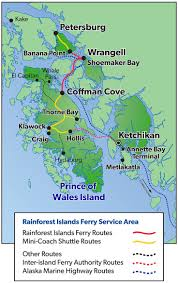 Ketchikan Alaska Map by 16 Best Southeast Alaska Explore Travel Images On Pinterest