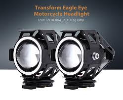 led lights for motorcycle for sale sale u7 motorcycle headlight 125w 12v 3000lm led fog l