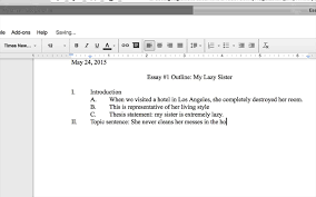 how to write an outline for a research paper mla creating an outline in google docs youtube