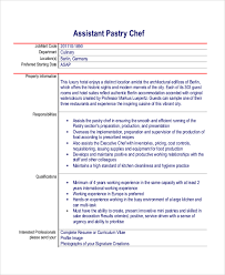 Kitchen Staff Resume Sample by Sample Chef Resume 8 Examples In Word Pdf