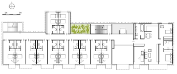 Residential Plan Passive House In The Subtropics Residential Building Near