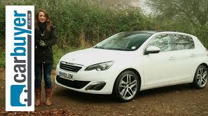 peugeot hatchback cars peugeot 308 hatchback 2014 review carbuyer youtube