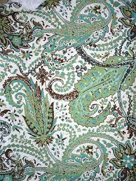 target threshold shower curtain paisley multi green blue brown