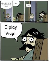 Vega Meme - dad vega is top tier in street fighter x tekken i know what
