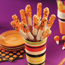 halloween pretzel treats recipe taste of home