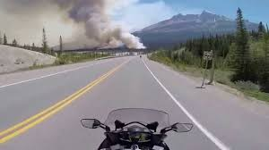 Saskatchewan Wildfire Evacuations by Forest Fire H93 Saskatchewan River Crossing Youtube