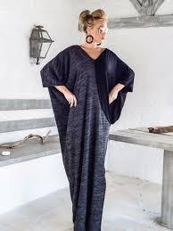warm wool maxi dress kaftan winter warm long dress plus size