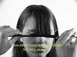 comment couper ses cheveux 7 best tuto se couper les cheveux soi même images on