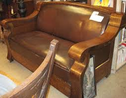 Chair Hide A Bed Antique Hide A Bed Sofa Empire Mission Oak Style