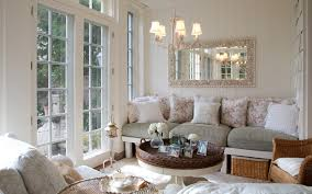 typical french eco friendly interior design with comfortable sofa