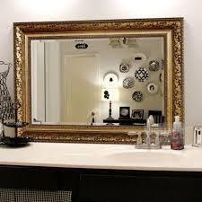 bathroom big mirrors large framed mirrors framed bathroom