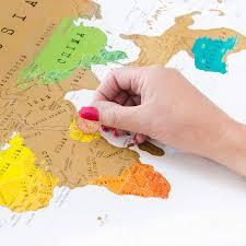 Mali World Map by Scratch Off U0027push Pin U0027 World Map Bundle By Thelittleboysroom