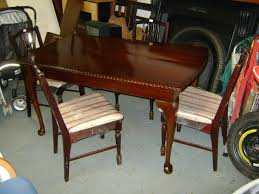 kitchen chairs second hand table and very best deccies done deal