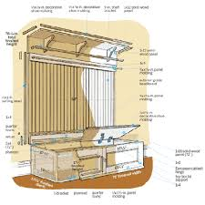 Mudroom Bench Seat How To Build A Mudroom Bench Mudroom Bench And Coats
