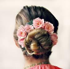 flower hair bun bun crown bun belt flower crown for your hair bun