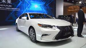 lexus es 350 vs hybrid 2016 lexus es 350 to built in kentucky by end of the year auto