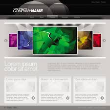 templates for website design gray vector website templates design elements 01 vector web design