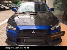evo 10 buy used mitsubishi evo 10 gsr 2 0 m car in singapore 39 800