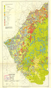 Lesotho Map The Soil Maps Of Africa Display Maps