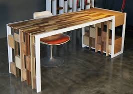 Hardwood Computer Desk 33 Stunning Reclaimed Wood Desks
