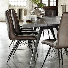 hix upholstered dining chair brown dining chairs dining room